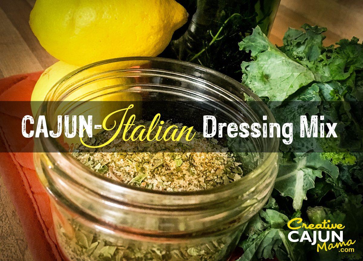 Cajun-Italian Dressing Mix