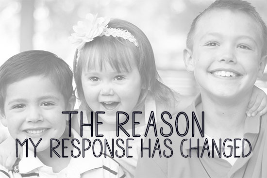 The Reason My Response Has Changed (from Working Mom to SAHM)