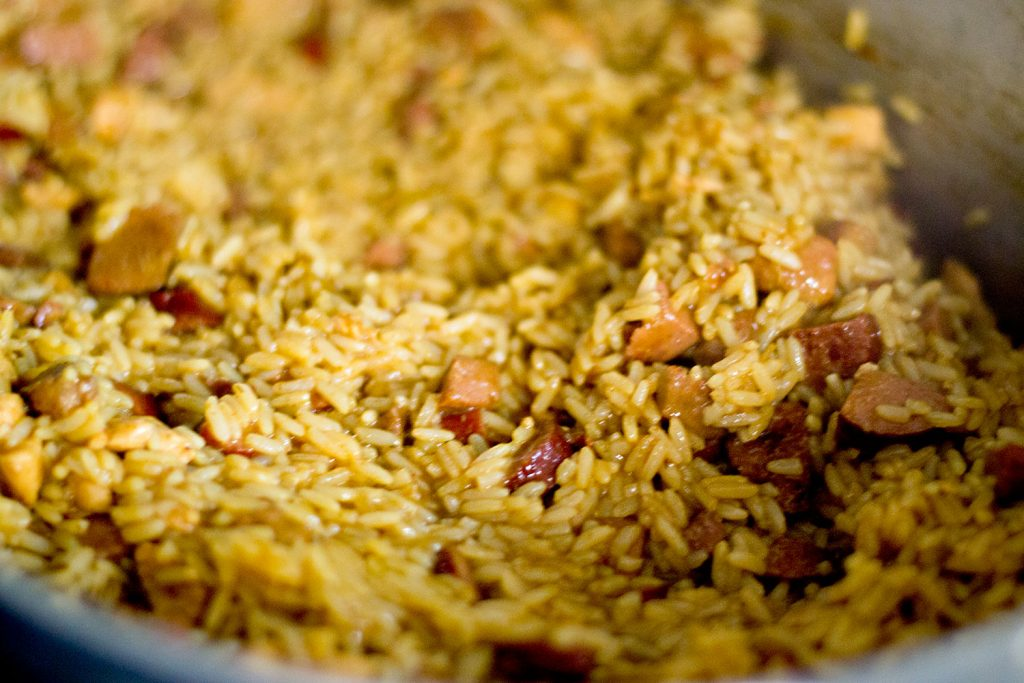 Jambalaya - Pork, Chicken, and Sausage