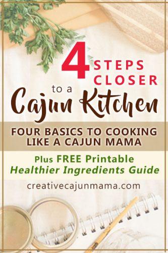 4 Steps Closer to a Cajun Kitchen