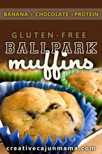 Ballpark Muffins – Banana Chocolate Protein
