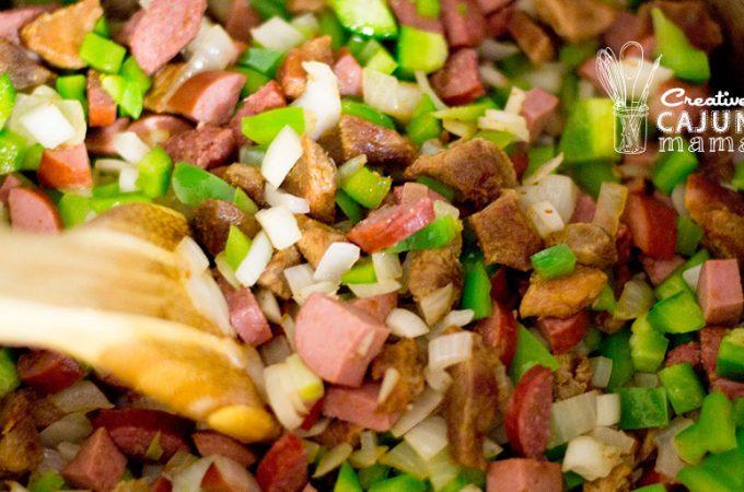 Jambalaya - Pork, Chicken, and Sausage - Level: Easy