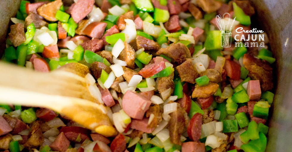 Jambalaya - Pork, Chicken, and Sausage - Level: Easy