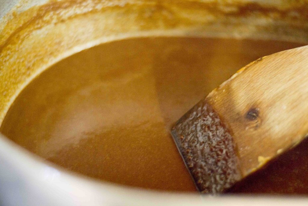 Baked Cajun Roux - Best Roux Ever! Organic Butter, Organic Flour, Cajun Roux