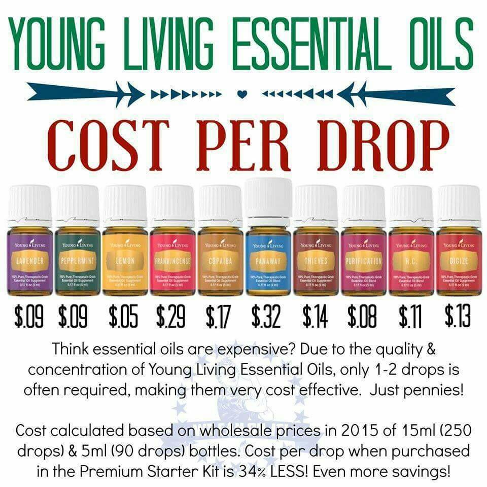 Essential Oils Cost | Creative Cajun Mama