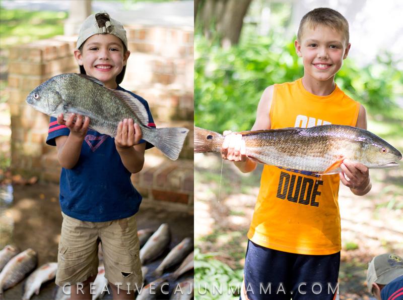 When You Don't Catch Fish | Creative Cajun Mama