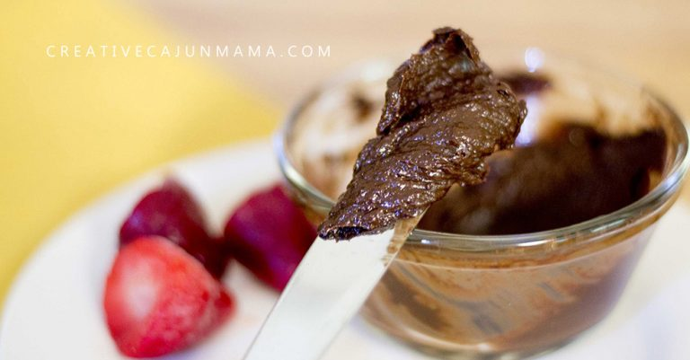 CHOCOLATE SPREAD, DIP, OR SAUCE: 3 Ingredients