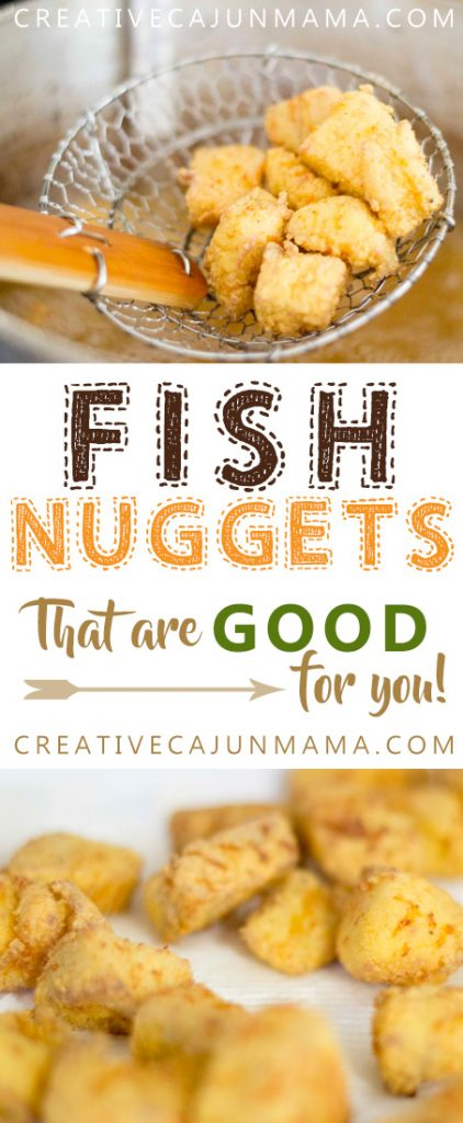 Fish Nuggets that are Good for You! - Creative Cajun Mama