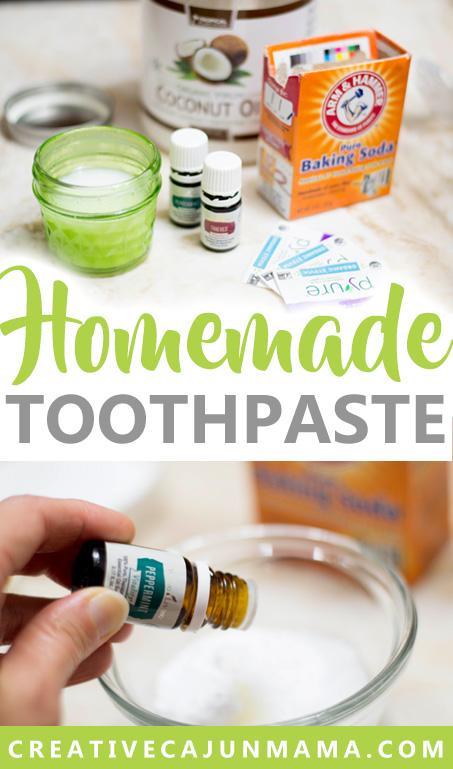 Homemade Toothpaste | Creative Cajun Mama