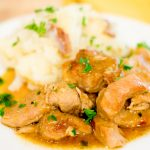 SMOTHERED PORK CHOPS & SMOTHERED POTATOES: At the Same Time