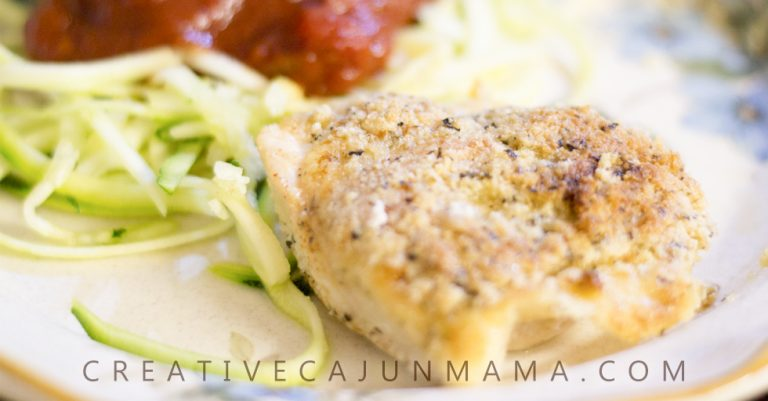 PARMESAN-CRUSTED CHICKEN BAKE | A Naturally Low-Carb, 30-Minute Meal