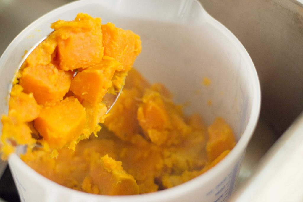 Sweet Potato Casserole (Crunch)