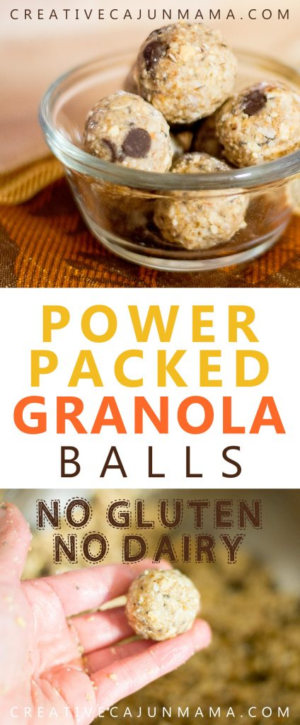 Power-Packed Granola Balls | Creative Cajun Mama