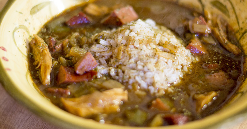 GUMBO (with bone broth)