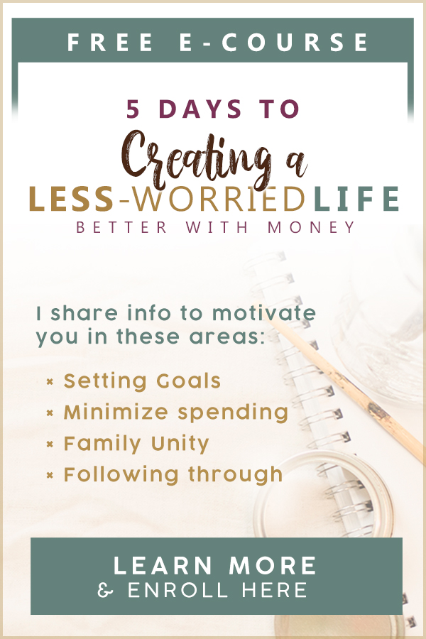 Creating a Less-Worried Life: Better with Money