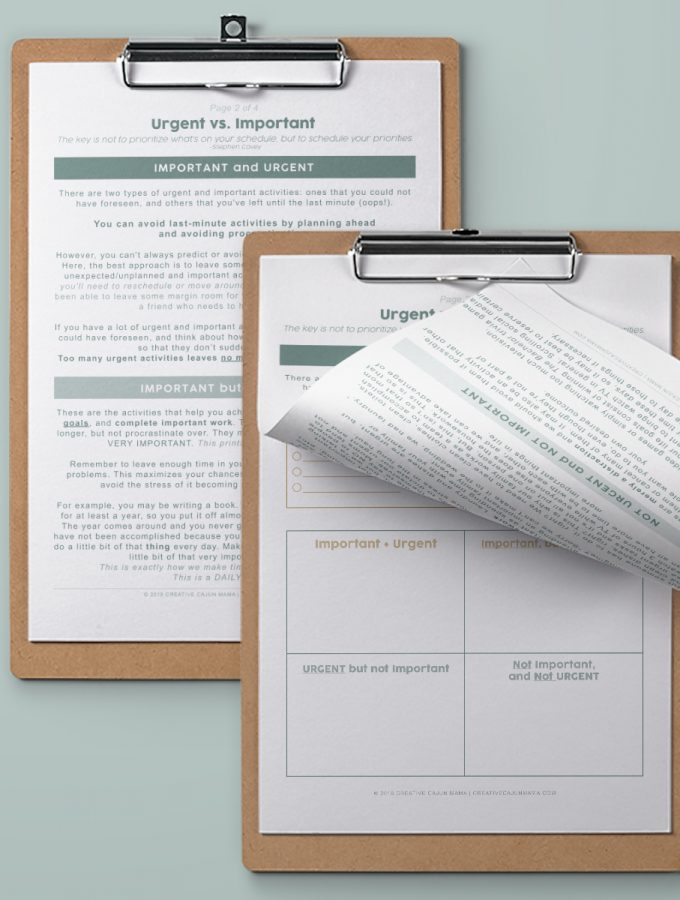 """When to Say """"YES"""" + Printable To-Do List 