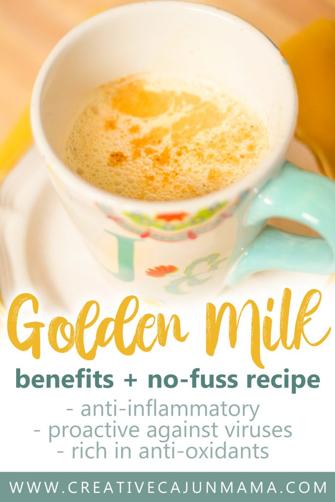 Golden Milk | No Fuss Golden Milk