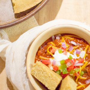 Quick & Satisfying HOMEMADE CHILI