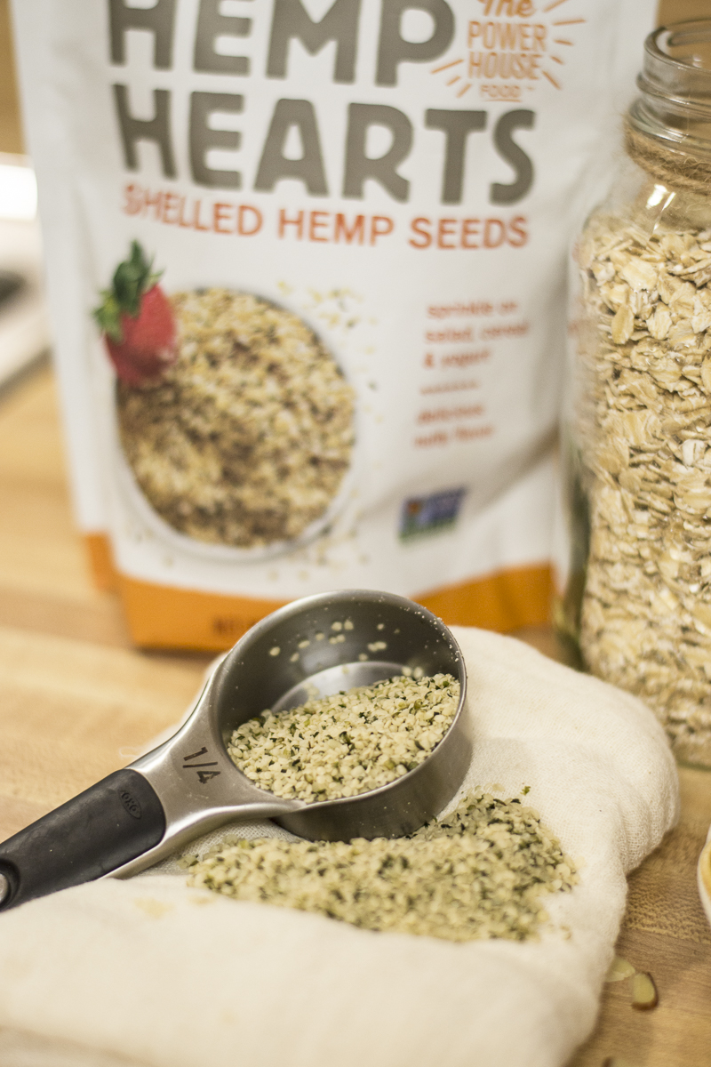 Oatmeal Breakfast Cookies | Hemp Hearts