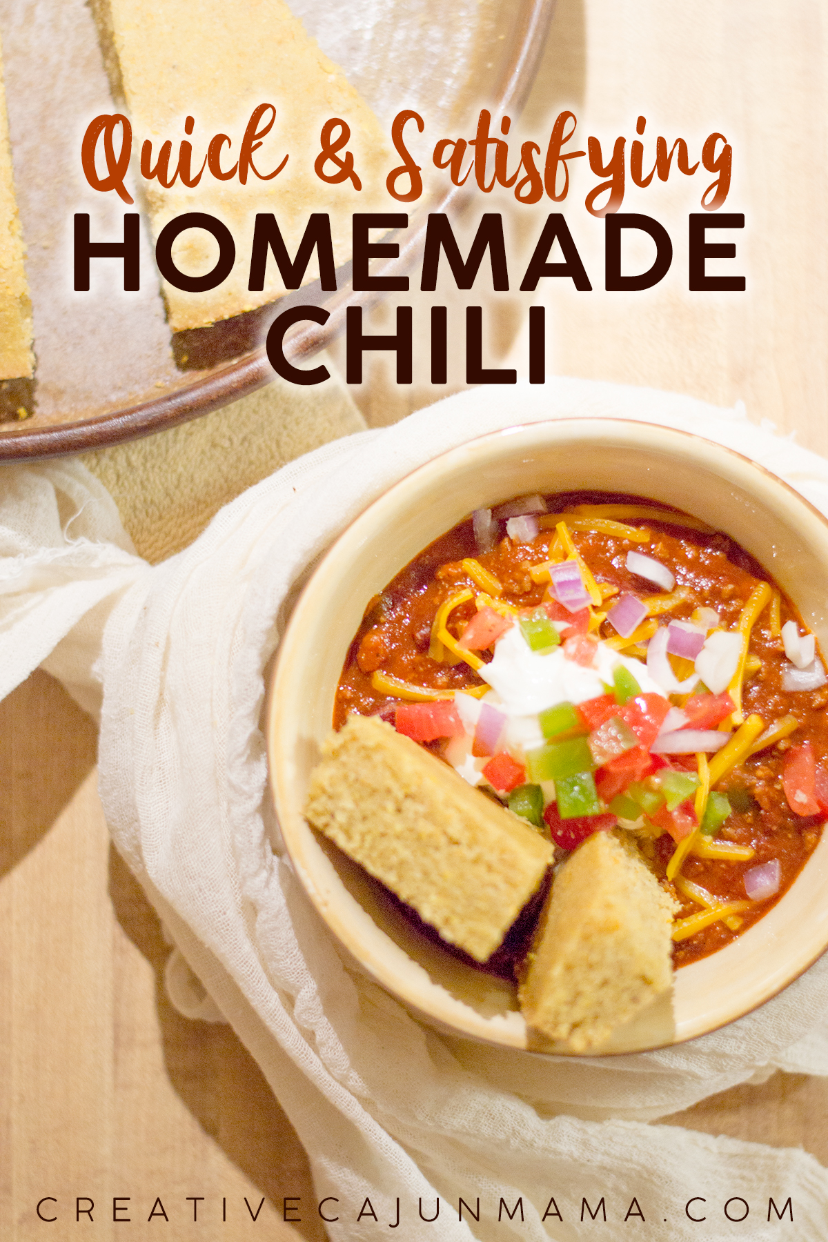 Quick + Satisfying Homemade Chili