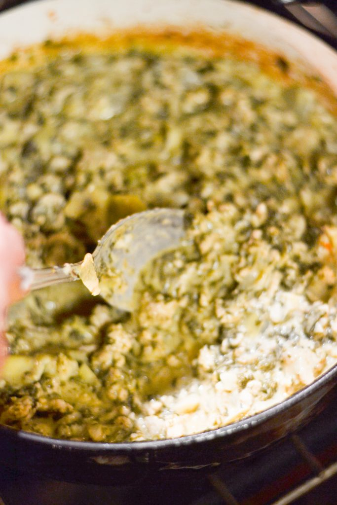 Spinach Artichoke Chicken Bake | 30-Minute Meal | Low-Carb