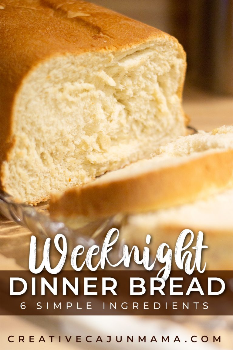 Weeknight Dinner Bread | 6 Ingredient, No-Fail Recipe