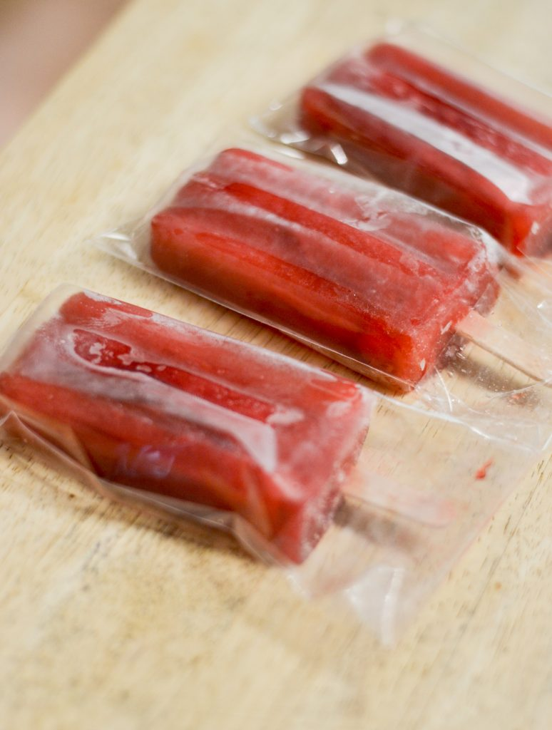 Berry Tea Popsicles
