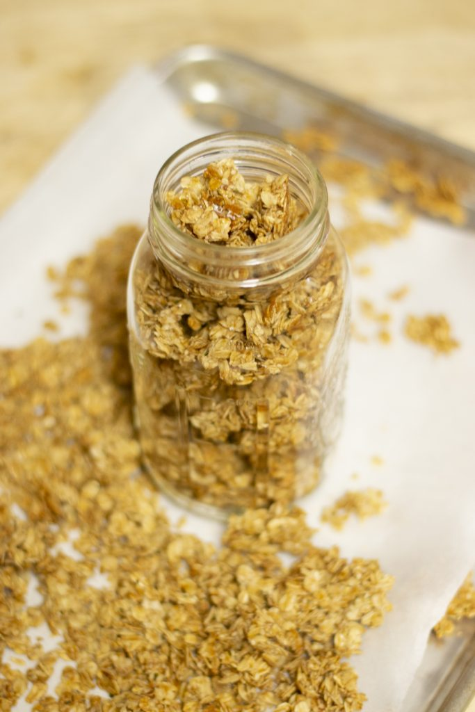 Easy Peasy Basic Granola