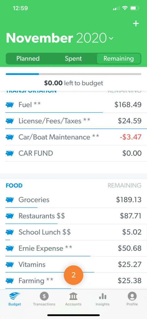 Budget Categories Explained - Creative Cajun Mama