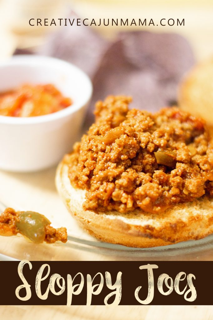 Sloppy Joes | Creative Cajun Mama