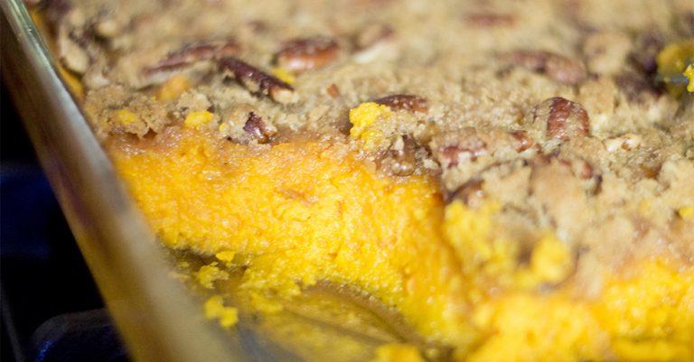 Sweet Potato Casserole (Crunch)