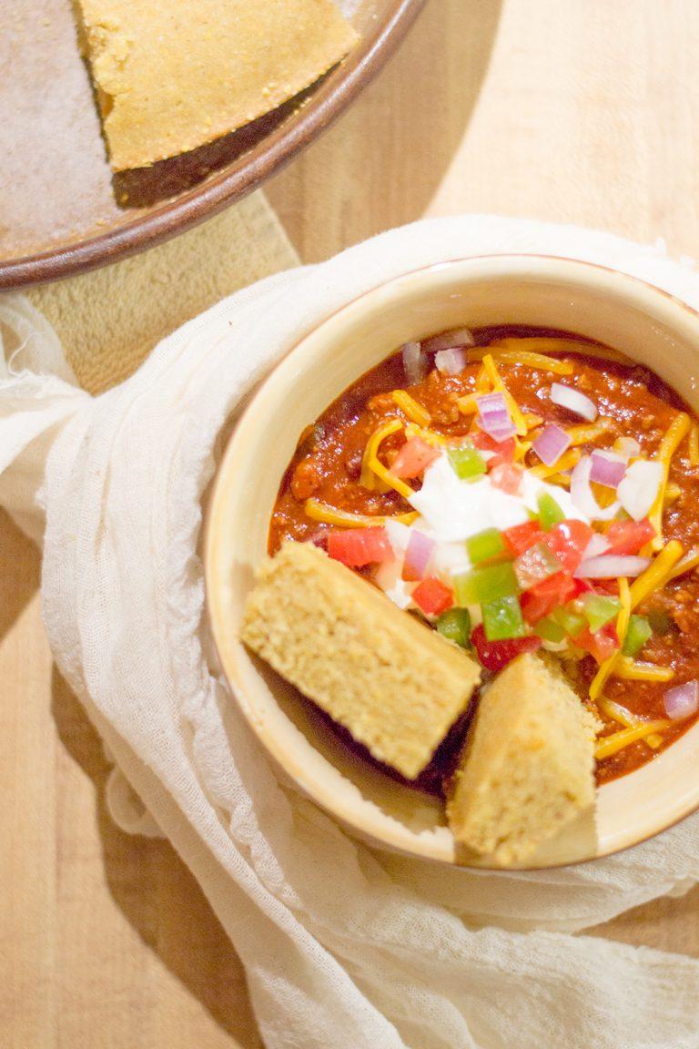 Quick + Satisfying Homemade Chili