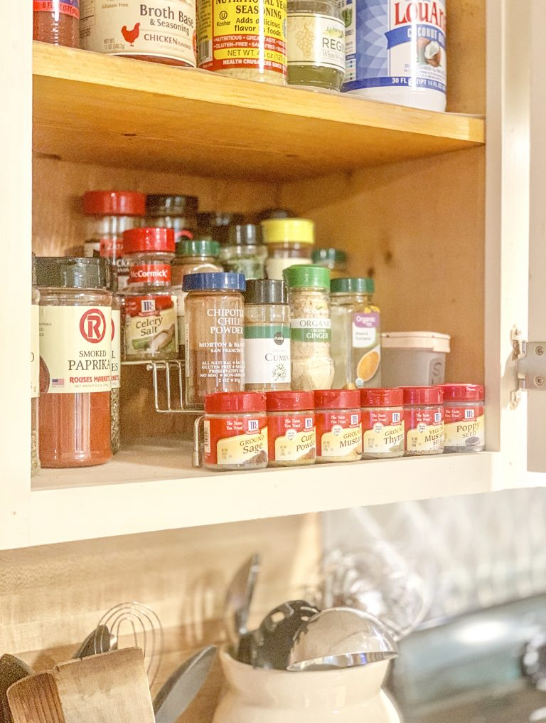 4 Tips for Organizing Your Spices